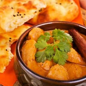 Indian cuisine is listed (or ranked) 1 on the list Your Favorite Types of Cuisine