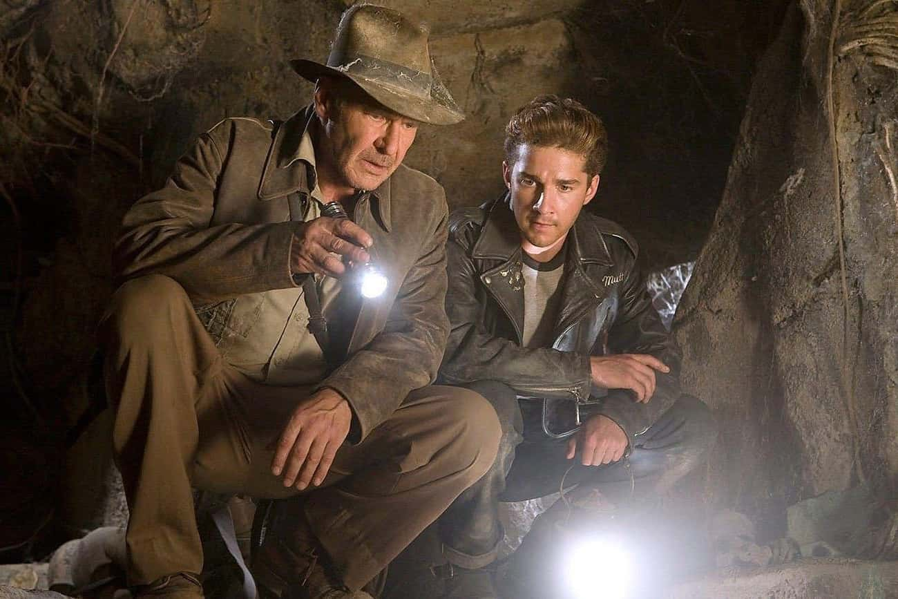 Indiana Jones and the Kingdom  is listed (or ranked) 4 on the list The Worst Movies In Great Franchises