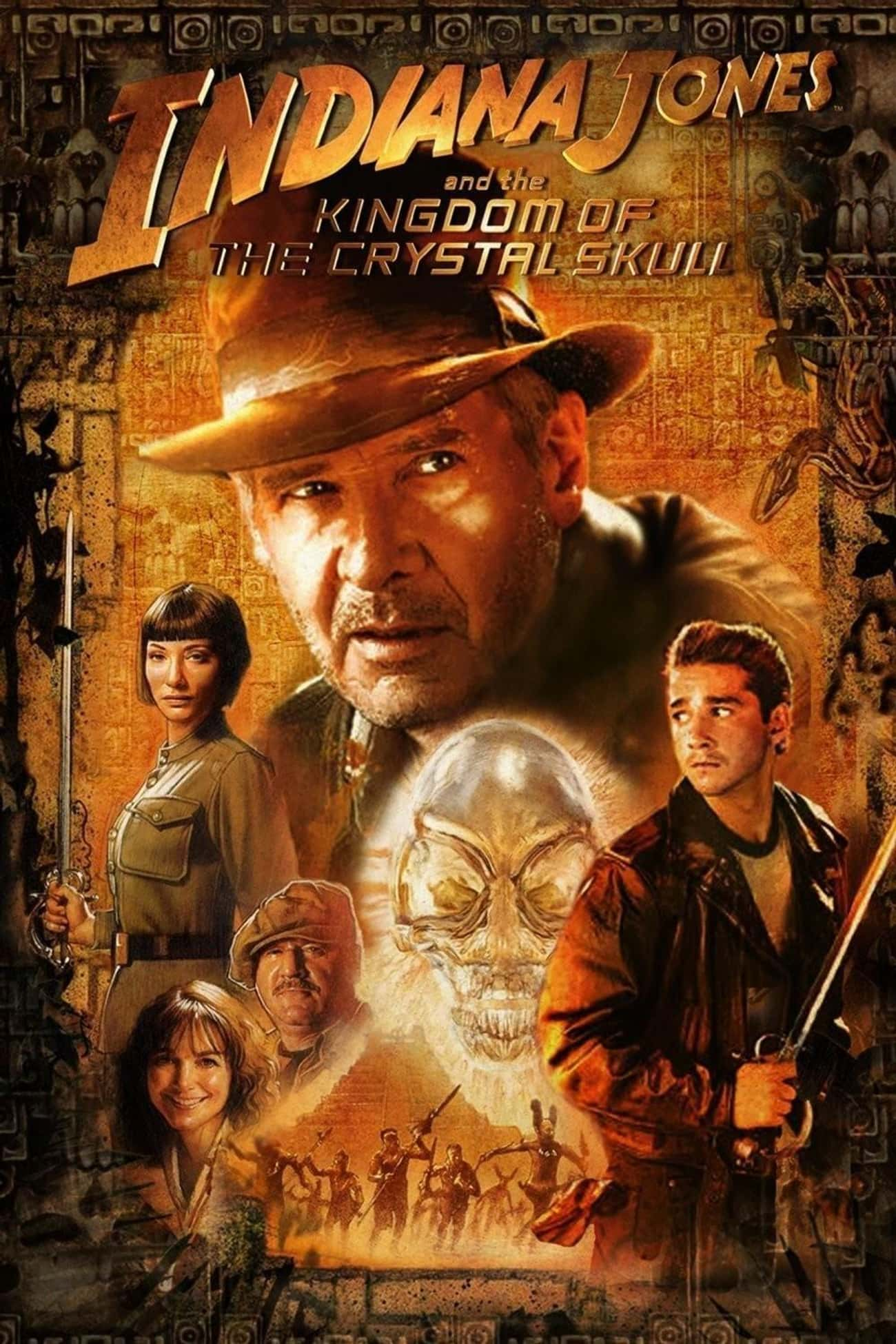Indiana Jones and the Kingdom  is listed (or ranked) 4 on the list The Best Movies (and Series) in the Indiana Jones Franchise, Ranked