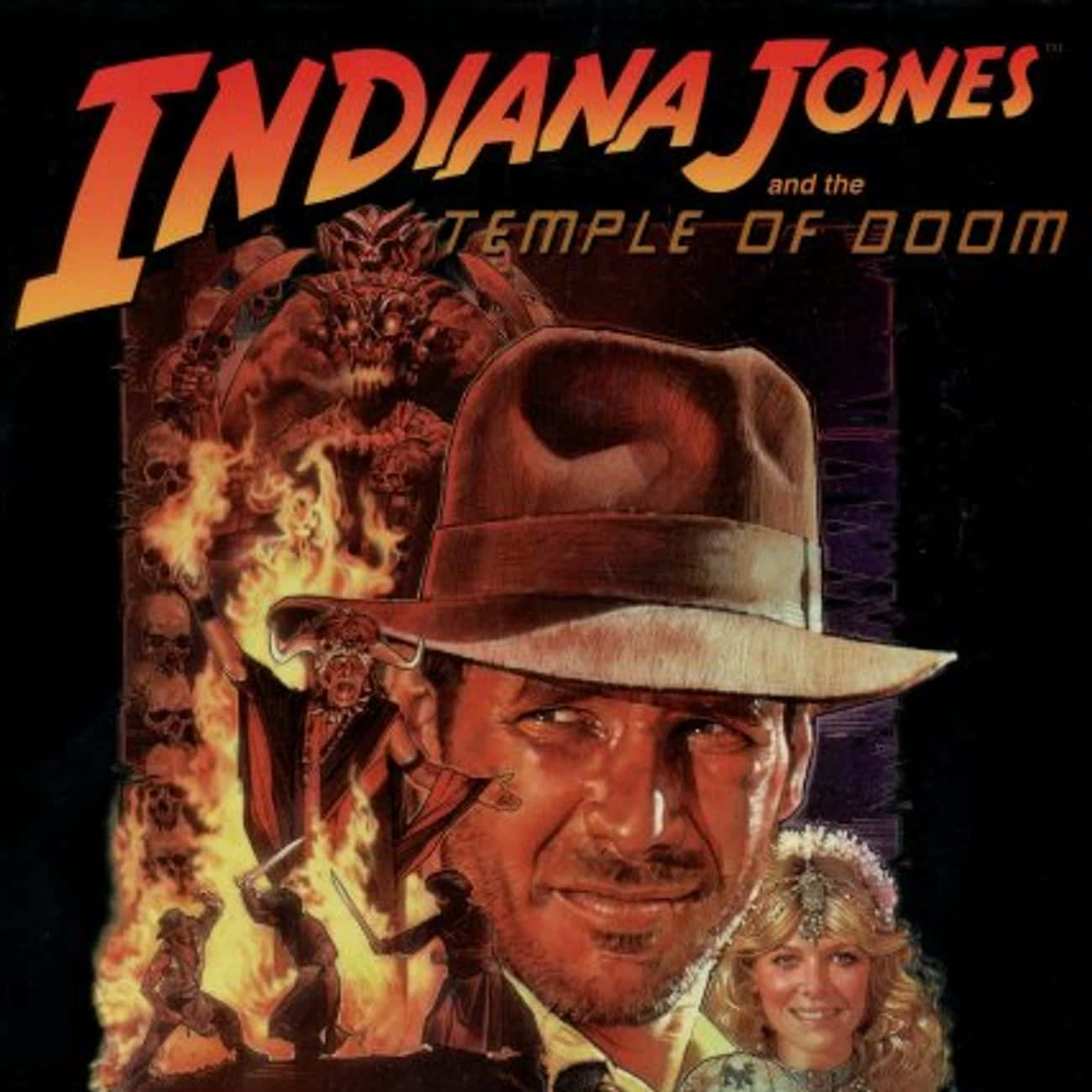 Indiana Jones and the Temple o is listed (or ranked) 3 on the list The Best Movies (and Series) in the Indiana Jones Franchise, Ranked