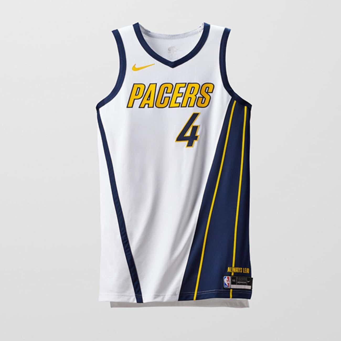 """Indiana Pacers is listed (or ranked) 2 on the list The Coolest NBA """"Earned Edition"""" Jerseys"""