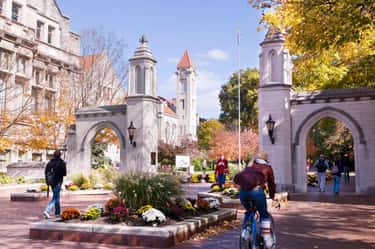 Indiana University - Bloomingt is listed (or ranked) 2 on the list All 14 Big Ten Schools