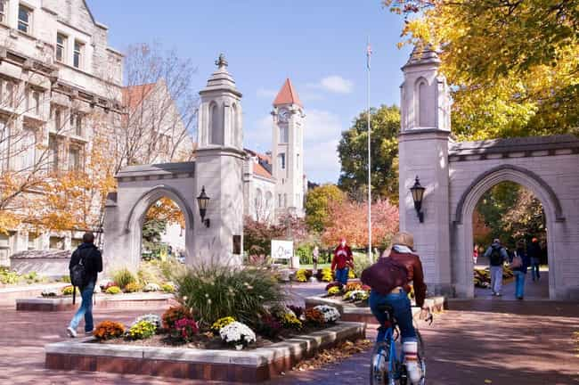 Indiana University Bloom... is listed (or ranked) 2 on the list All 14 Big Ten Schools