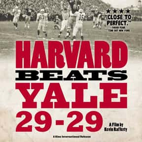 Harvard Beats Yale 29-29 is listed (or ranked) 24 on the list The Best Movies About Ivy League Schools