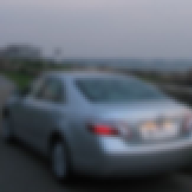 2007 Toyota Camry Hybrid is listed (or ranked) 4 on the list List of Popular Toyota Sedans