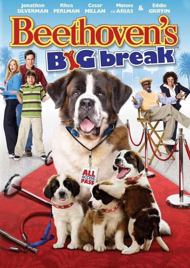 Beethoven's Big Break is listed (or ranked) 4 on the list The Best Beethoven Movies