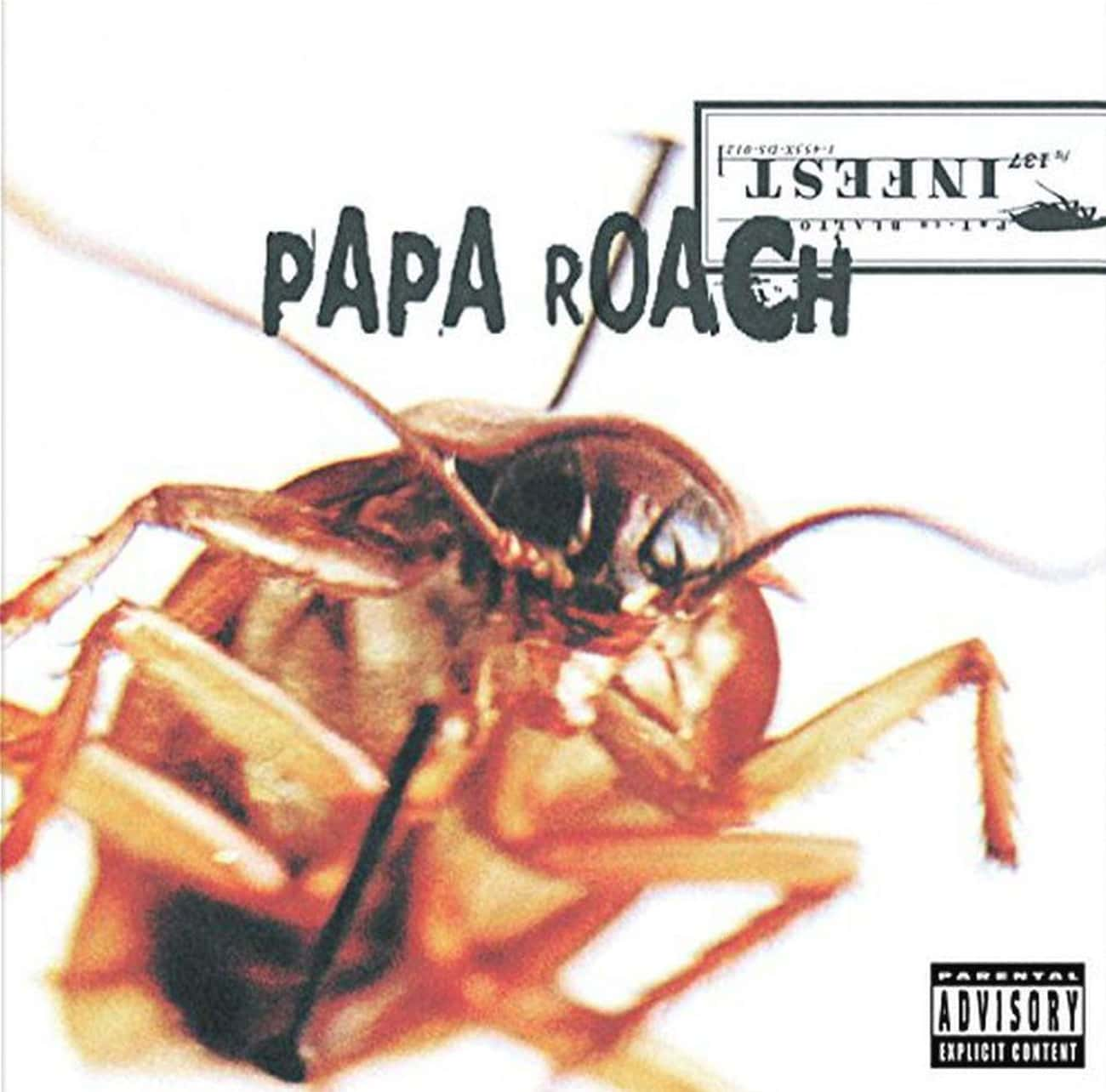 Infest is listed (or ranked) 1 on the list The Best Papa Roach Albums of All Time