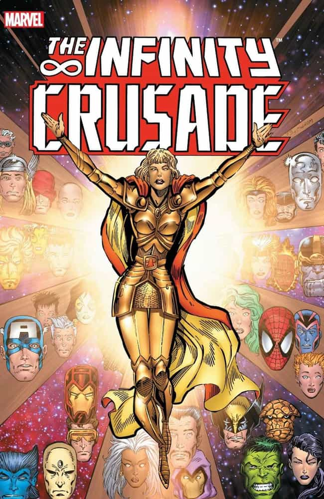 Infinity Crusade is listed (or ranked) 2 on the list The Best Storylines That Feature Thanos