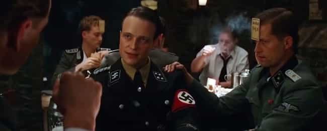 Inglourious Basterds is listed (or ranked) 4 on the list The Funniest Last Words In Movie History