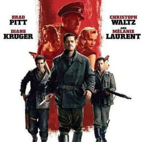 Inglourious Basterds is listed (or ranked) 3 on the list The Best Brad Pitt Movies