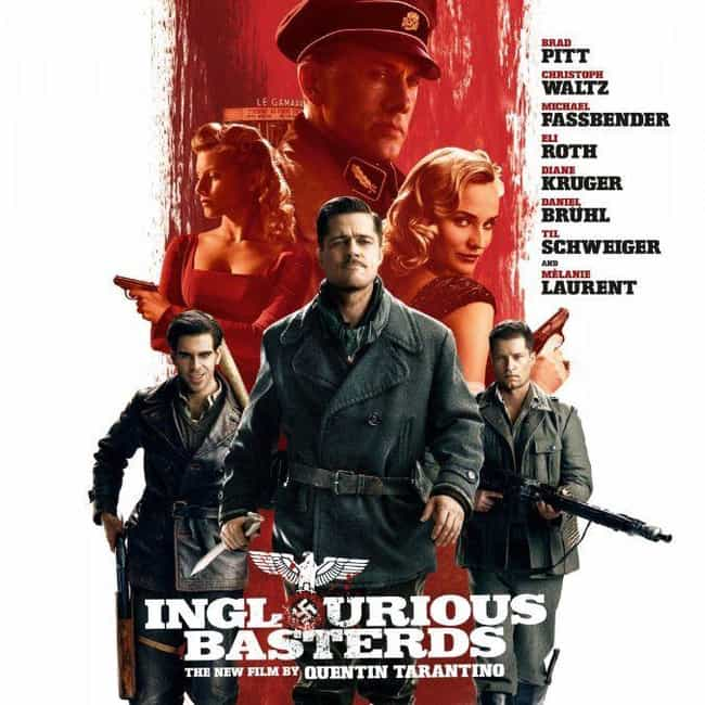 Inglourious Basterds is listed (or ranked) 3 on the list Quentin Tarantino Movies, Ranked Best to Worst