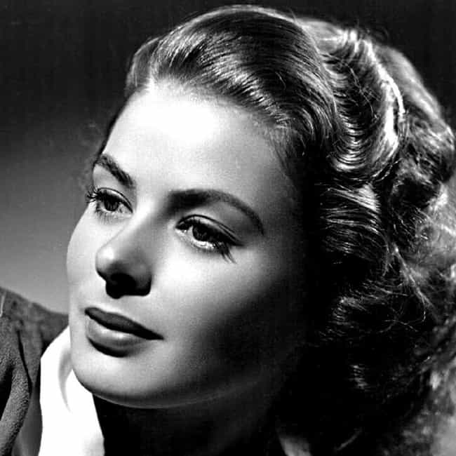 Ingrid Bergman is listed (or ranked) 2 on the list Famous People Who Died of Lymphoma