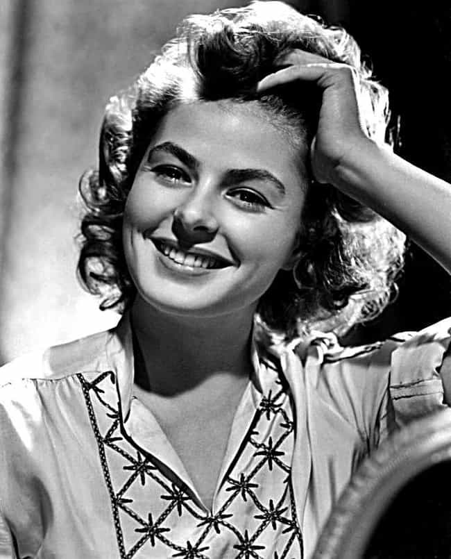 Ingrid bergman is listed or ranked 2 on the list 36 famous movie stars