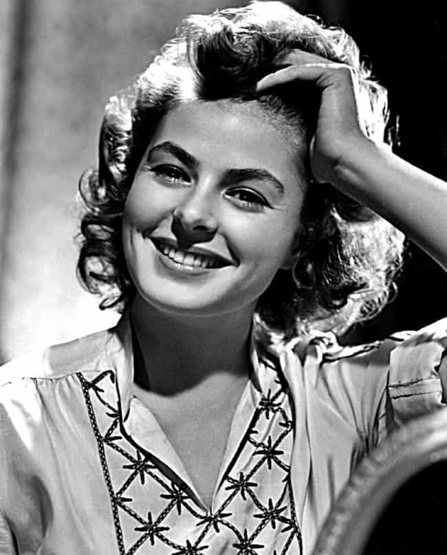 Ingrid Bergman is listed (or ranked) 1 on the list 35 Celebs Who Are Scandinavian