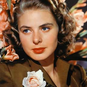 Ingrid Bergman is listed (or ranked) 2 on the list The Best Actresses in Film History