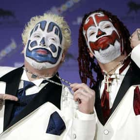 Insane Clown Posse is listed (or ranked) 1 on the list The Worst Rock Bands of All Time