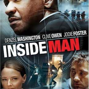 Inside Man is listed (or ranked) 20 on the list The Best Cerebral Crime Movies, Ranked