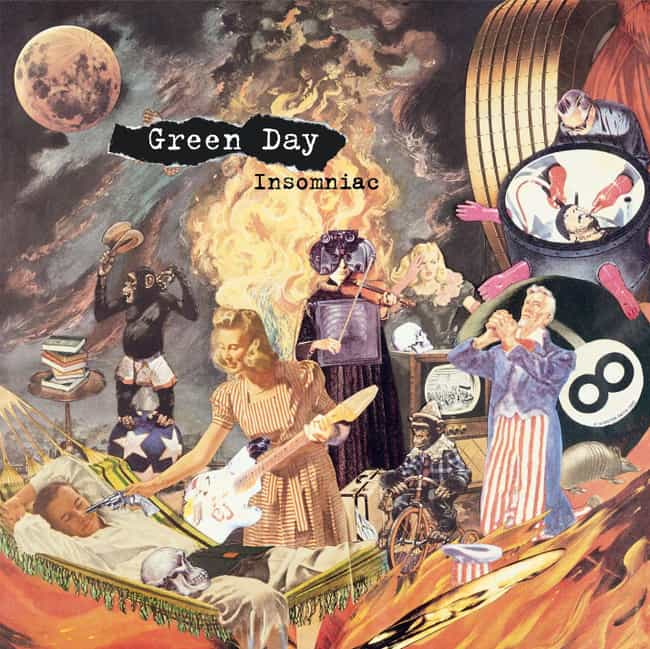 Insomniac is listed (or ranked) 4 on the list The Best Green Day Albums of All Time