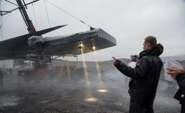Interstellar is listed (or ranked) 4 on the list Behind The Scenes Photos Of Huge Movie Sets Under Construction