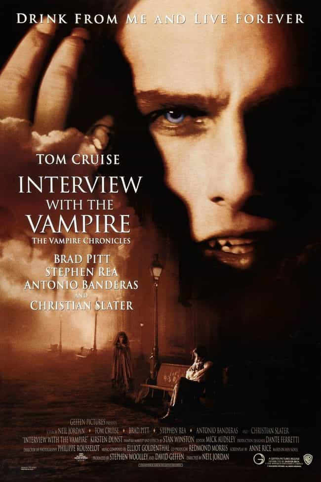 Interview with the Vampi... is listed (or ranked) 2 on the list The Greatest Shows & Movies About Vampires