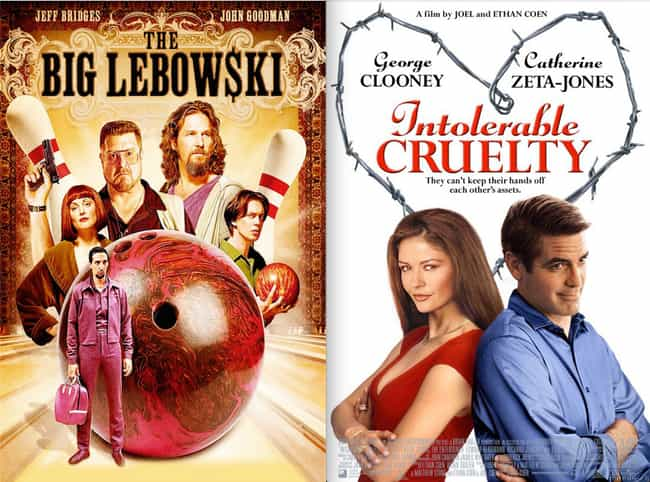 Intolerable Cruelty is listed (or ranked) 2 on the list 21 Surprisingly Bad Movies Directed by Good Directors