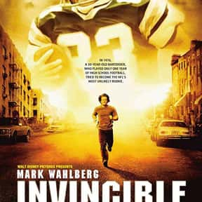 Invincible is listed (or ranked) 20 on the list The Most Inspirational Movies Ever