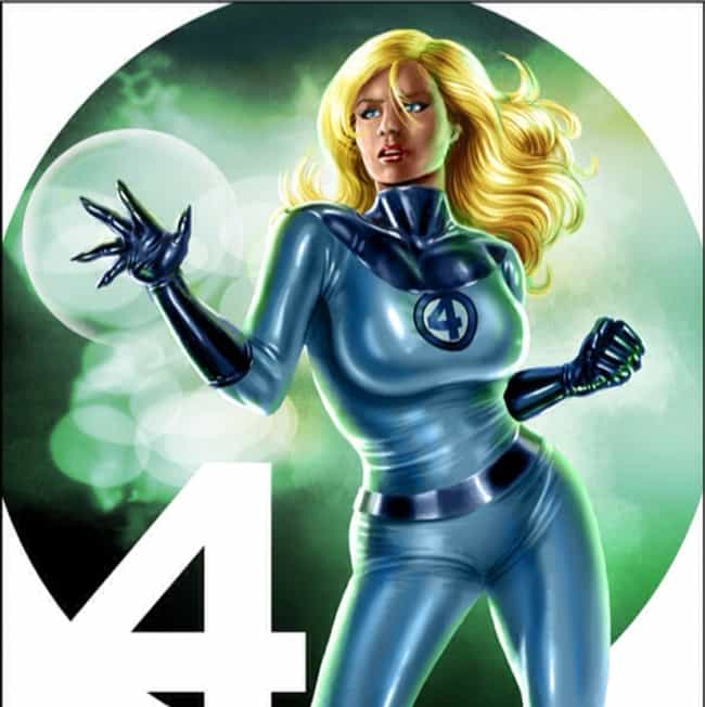 e6eb02037fd3 Invisible Woman is listed (or ranked) 4 on the list 22 Female Comics  Characters