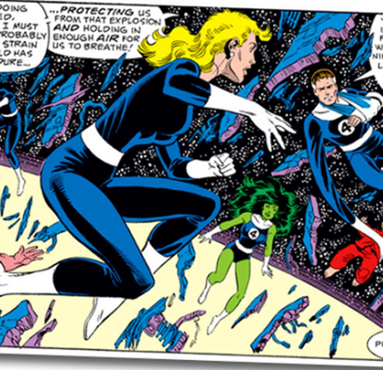 Invisible Woman Forgot Her Mul is listed (or ranked) 4 on the list The Worst Haircuts Ever Sported by Superheroes