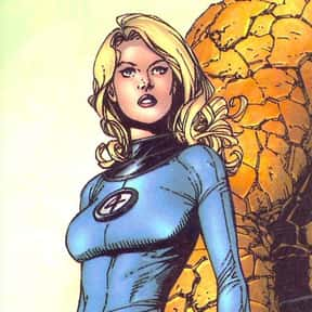 Invisible Woman is listed (or ranked) 4 on the list List of Fantastic Four Characters