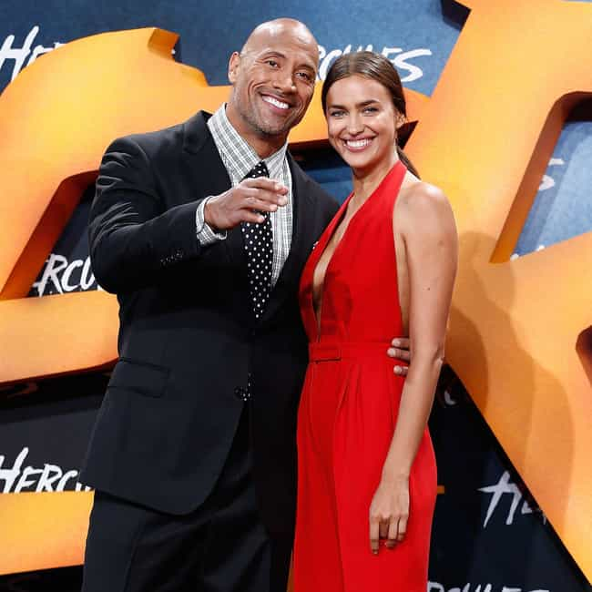 Irina Shayk is listed (or ranked) 2 on the list Dwayne Johnson Loves and Hookups