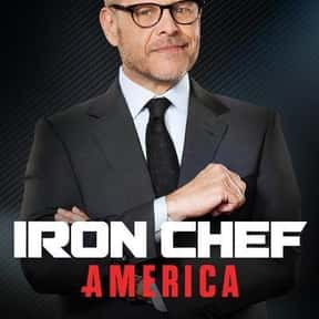 Iron Chef America is listed (or ranked) 13 on the list The Most Watchable Cooking Competition Shows