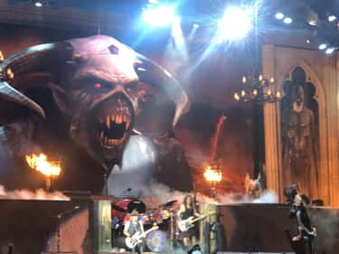 Iron Maiden - Banc of Californ is listed (or ranked) 1 on the list I Saw 100+ Bands In 2019 And Ranked Them
