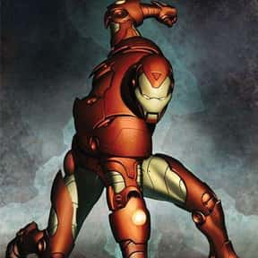 Iron Man is listed (or ranked) 4 on the list The Top Marvel Comics Superheroes