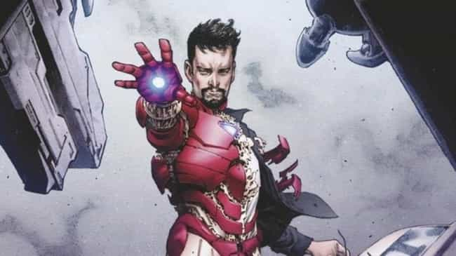Iron Man is listed (or ranked) 4 on the list Popular Comic Book Characters Who Probably Vote Republican