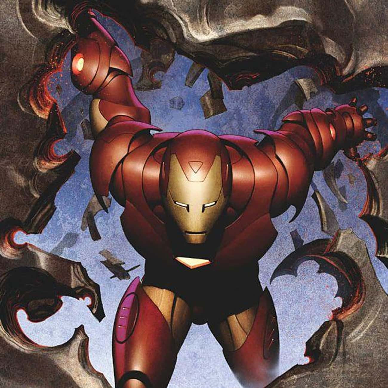 Iron Man Is One Of The Tallest Avengers, Standing 6'6""