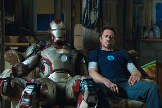 Iron Man is listed (or ranked) 3 on the list The Best Superhero Day Jobs