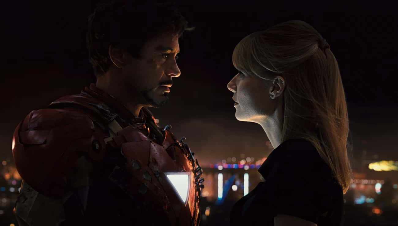 Tony Stark And Pepper Potts is listed (or ranked) 1 on the list The Best Romantic Relationships In The MCU