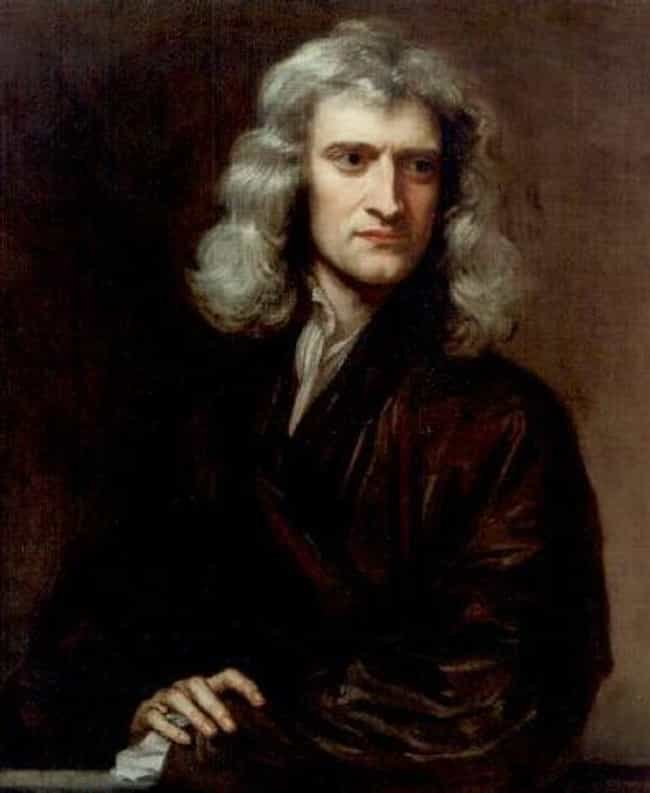 Isaac Newton is listed (or ranked) 4 on the list Some Historians Think These Historical Figures Died As Virgins