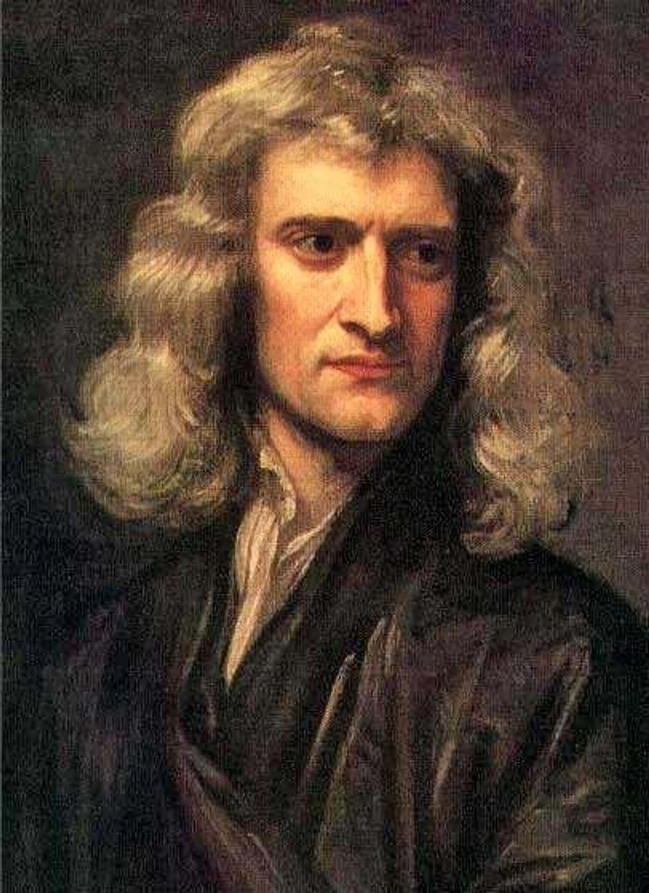 Isaac Newton is listed (or ranked) 3 on the list Famous People Who Are Capricorn