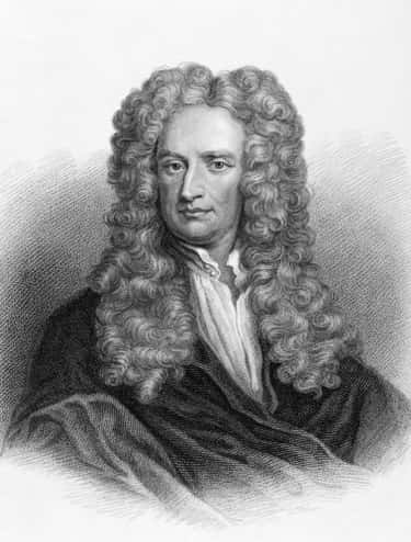 Isaac Newton is listed (or ranked) 2 on the list Famous Male Mathematicians