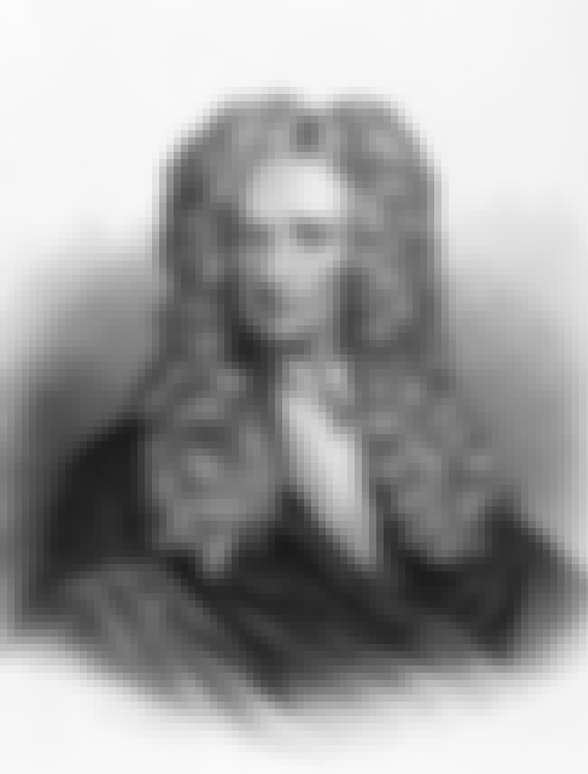 Isaac Newton is listed (or ranked) 4 on the list Famous Male Philosophers