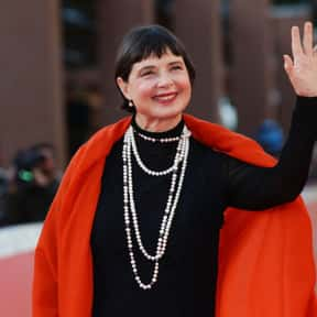 Isabella Rossellini is listed (or ranked) 20 on the list List of Famous Television Directors