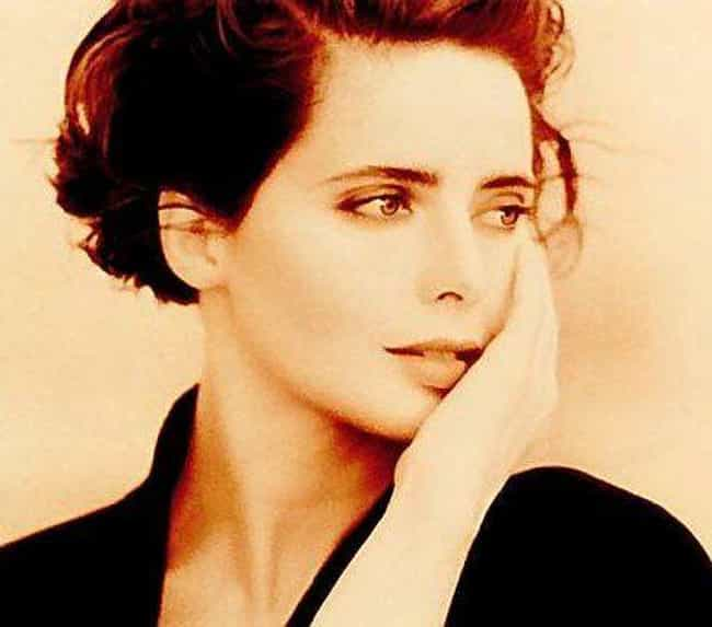 Isabella Rossellini is listed (or ranked) 4 on the list The Hottest Italian Models of All Time