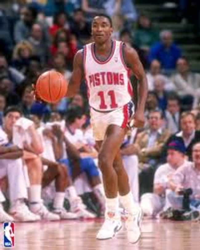 Isiah Thomas is listed (or ranked) 6 on the list The Top 25 Greatest Point Guards of All Time