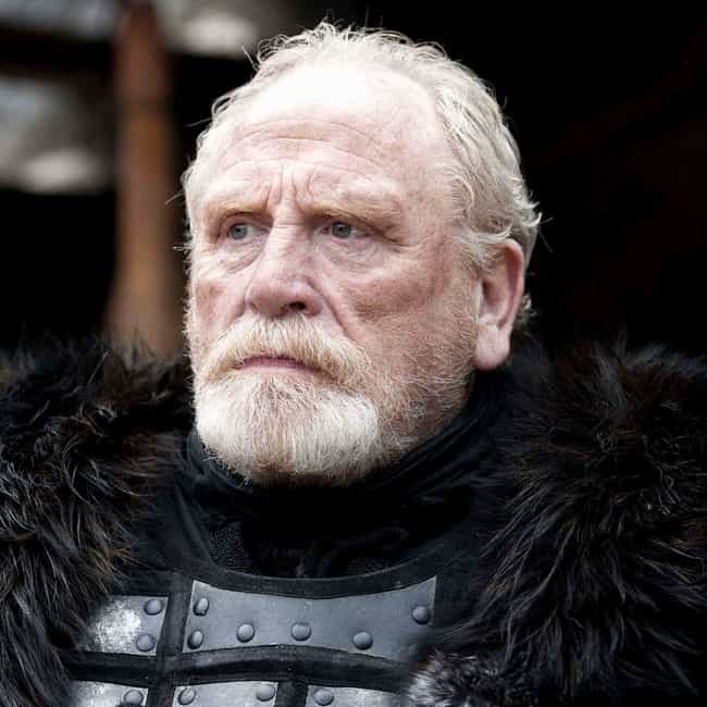 Jeor Mormont is listed (or ranked) 4 on the list The Best Beards on Game of Thrones