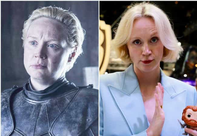 Brienne of Tarth is listed (or ranked) 3 on the list Here's What The Game Of Thrones Characters Look Like Outside Of Westeros