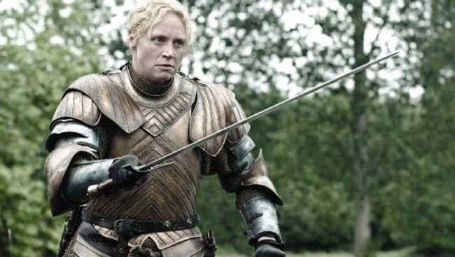 Brienne of Tarth is listed (or ranked) 1 on the list The Most Badass Ladies from Game of Thrones