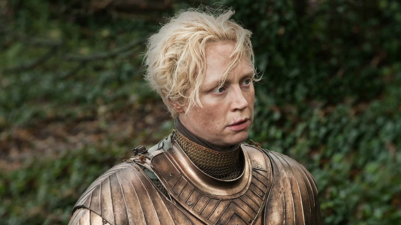 Brienne of Tarth is listed (or ranked) 4 on the list The Greatest TV Characters Who Weren't in Season 1