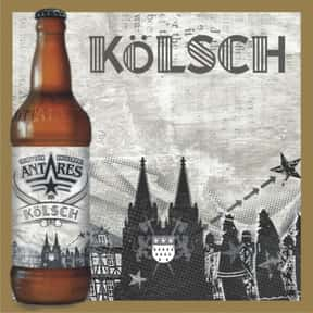 Antares Kölsch is listed (or ranked) 16 on the list Beers with 5.0 Percent Alcohol Content