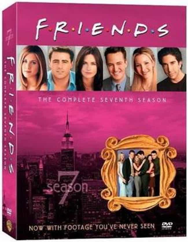 Friends Season 7 is listed (or ranked) 6 on the list Every Season of Friends, Ranked